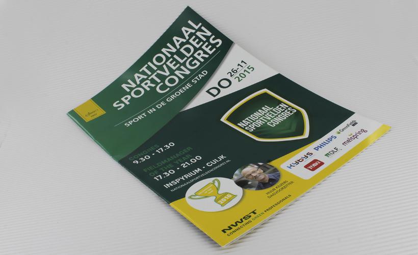 NWST_Brochure Nationaal Sportvelden Congres