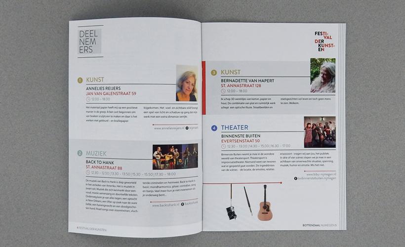 Festival der Kunsten Nijmegen 2016 Programmaboekje