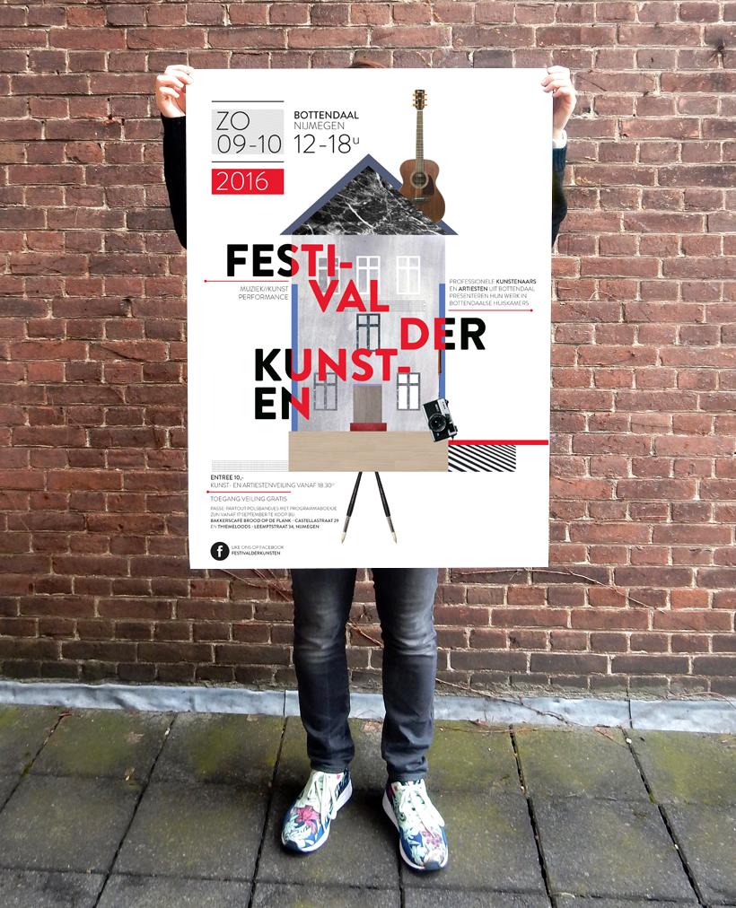 Festival der Kunsten Nijmegen 2016 Poster