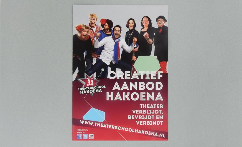Theaterschool Hakoena Wijchen brochure