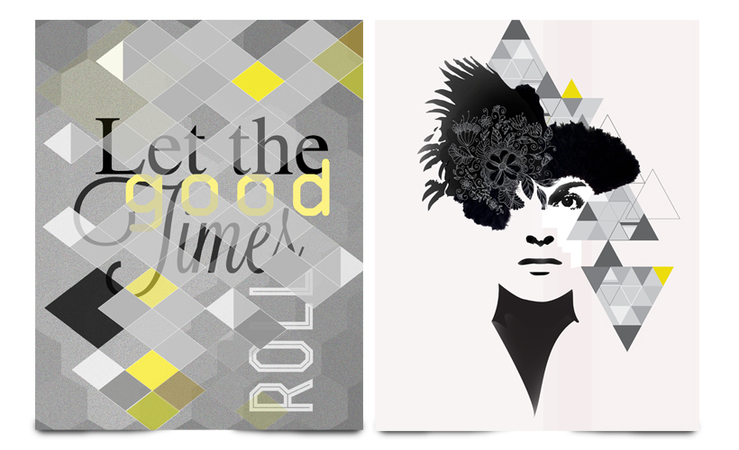 Illustratie StudioBont Marie Cecile let the good times roll Graphic Woman