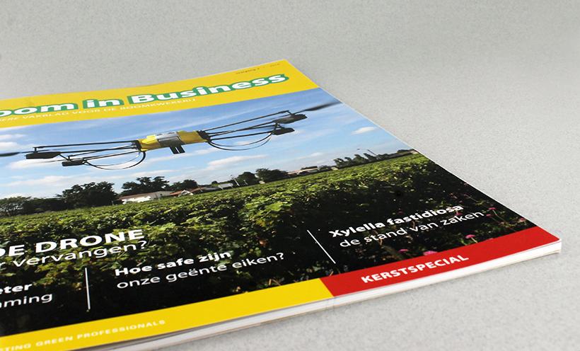 Groene vakbladen NWST Boom in Business