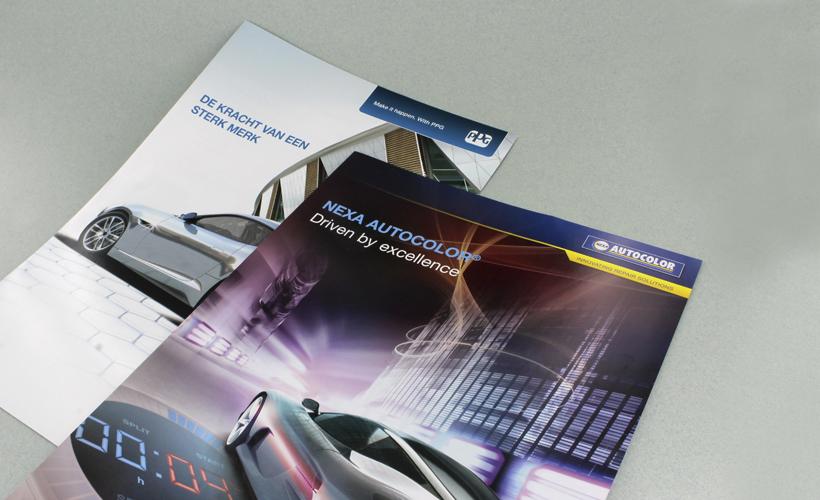 Brochures PPG en Autocolor