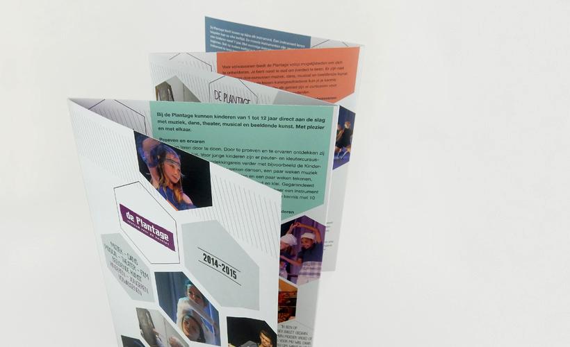 Plantage Tiel brochure cursusaanbod kunsten 2015
