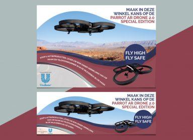 Unilever drone actie