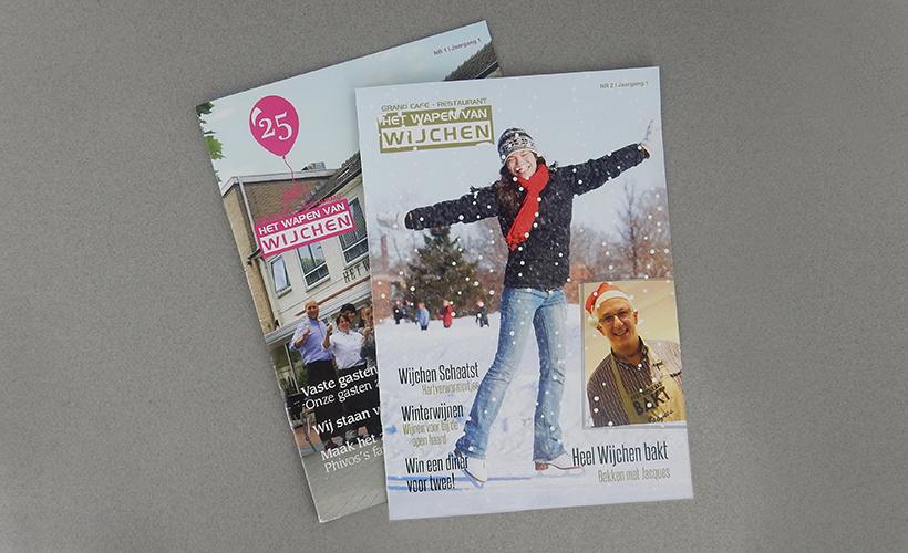 Wapen van Wijchen magazine StudioBont