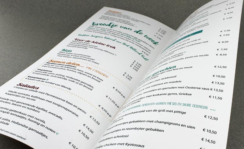 Wapen van Wijchen menukaart