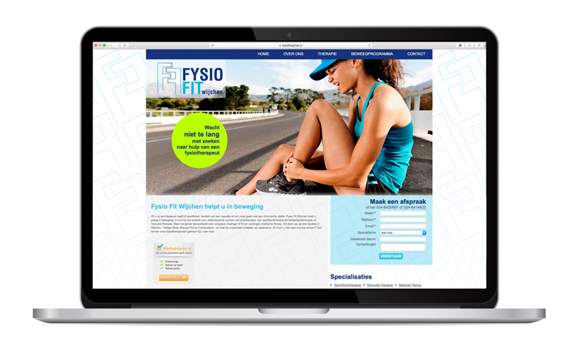 Website Fysio Fit Wijchen