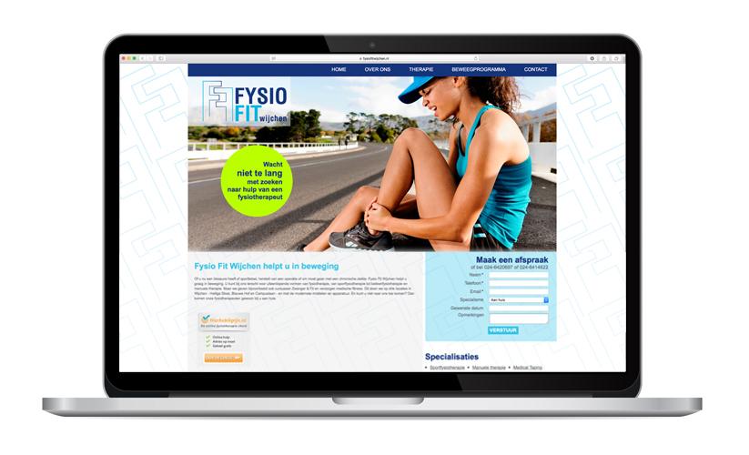 Website Fysio Fit Wijchen