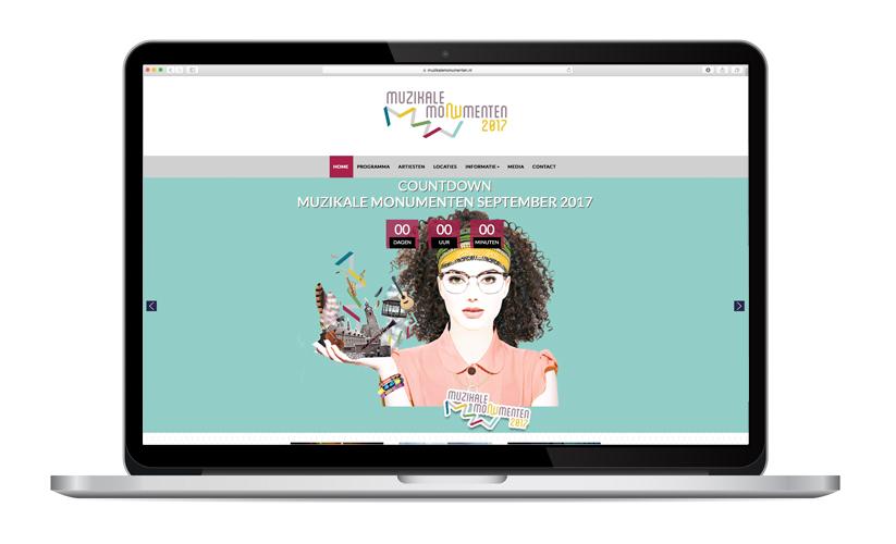 Website Muzikale Monumenten
