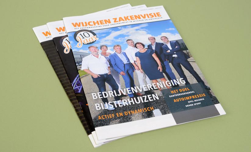 Wijchen Zakenvisie magazine