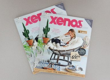 Xenos woonmagazine cover 2015 StudioBont